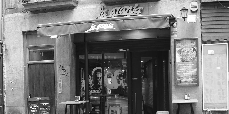 Bar La Granja – Pamplona 01